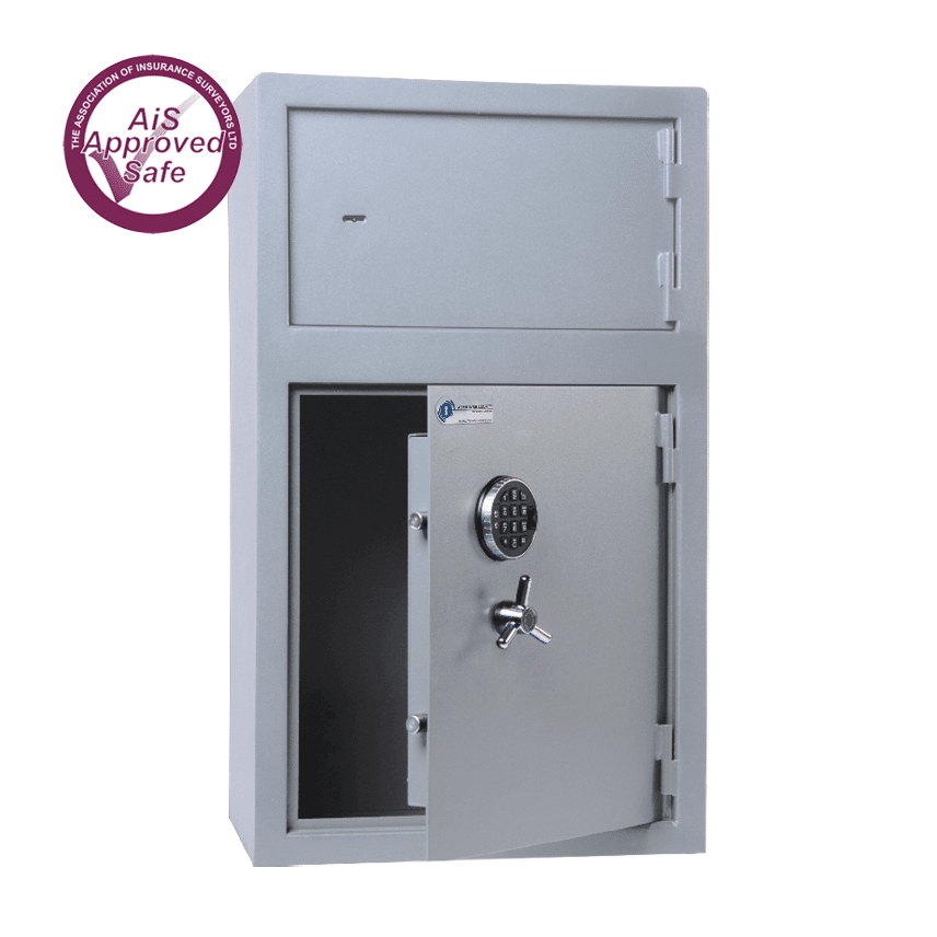 AS-2020-AiS-Insurance-Approved-Associated Security Secure Storage Medicine Cabinets Dual Door Made In Britain