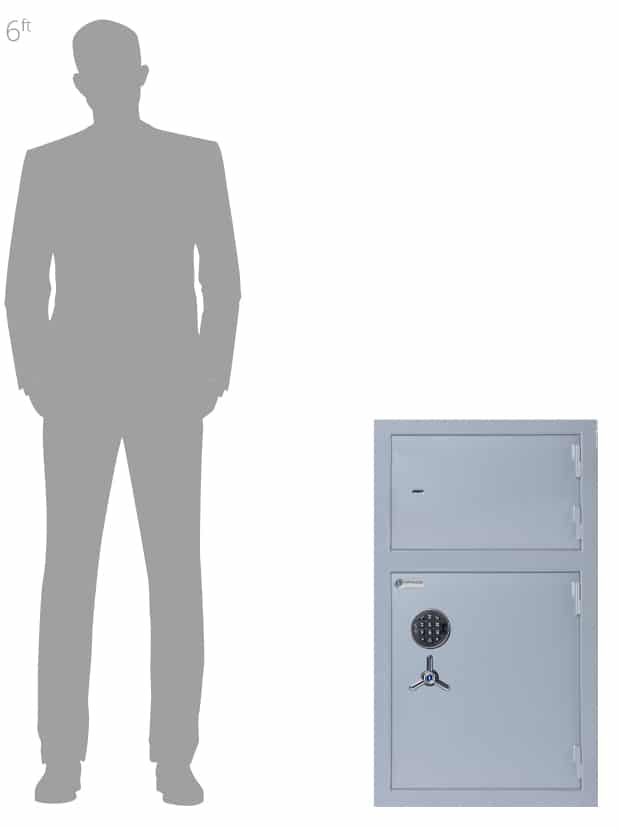 Antonio Medicine Cabinets Associated Security Secure Storage - Commercial Security - Door Closed-Made-in-Britain-AiS-Insurance-Approved - Dual Door