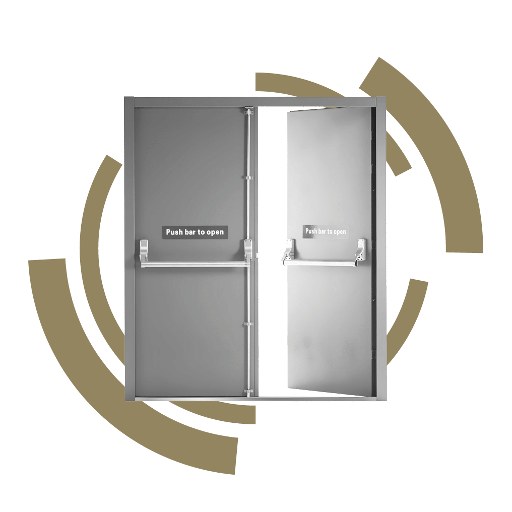 Associated Sec-urity Security Doors