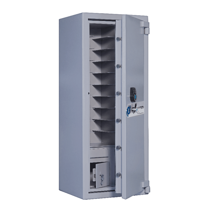 Associated Security Secure Storage Safes Bespoke Commerial Banking Retail Hospitality Industry Made In Britain