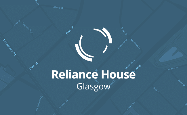 Contact Us - Glasgow - Reliance House - Nuneaton Street - Glasgow - Scotland