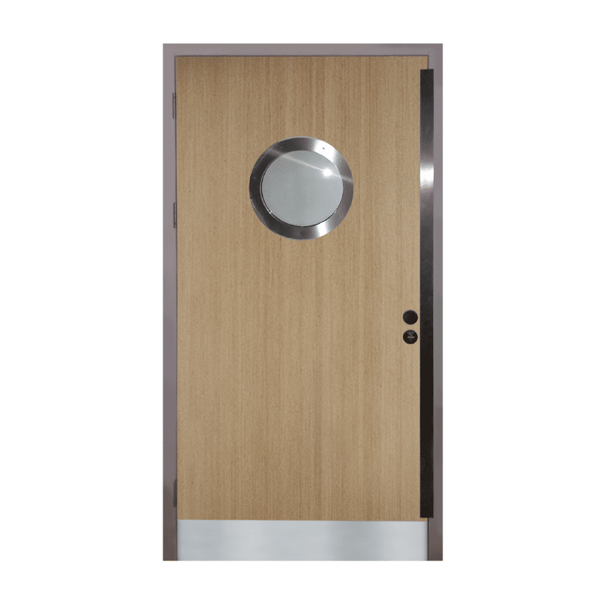 LPCB Approved Wooden Security Doors