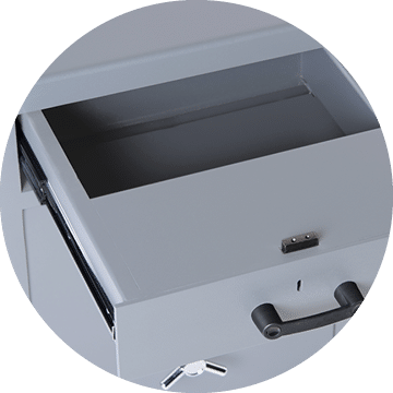 Associated Security - Safes - Secure Storage - Optional Extras - Drawer Trap
