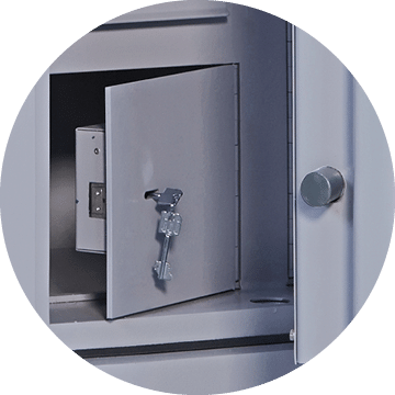 Associated Security - Safes - Secure Storage - Optional Extras - Lockable Compartment
