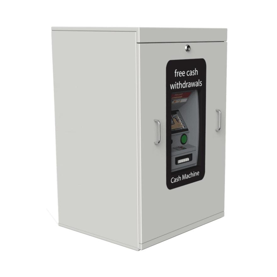 Telescopic ATM Enclosure -ATM Protection