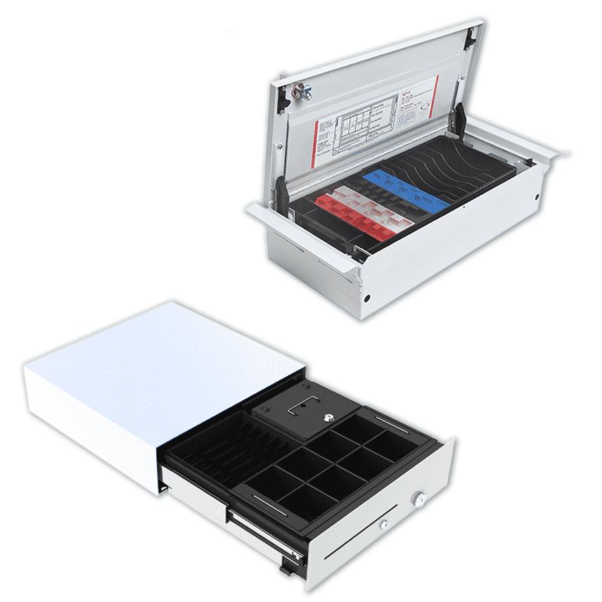 Integrated Skimmer - Flip Lid Skimmer 0 Cash Management Solutions