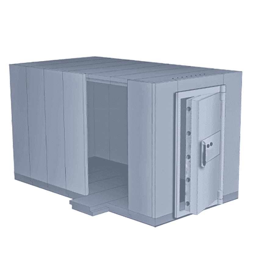 Vault and Strongroom-Associated Security
