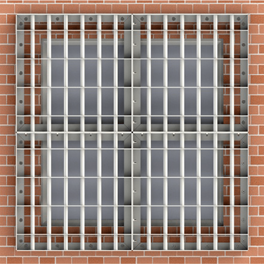 Window Bars-Associated Security