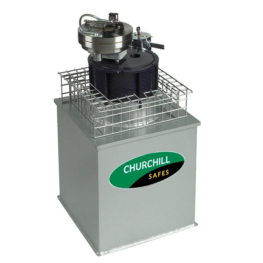 Under Floor safe- Churchill Ruby Safe