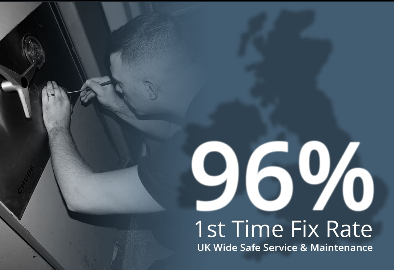 Associated Security - 96% First Time Fix Rate