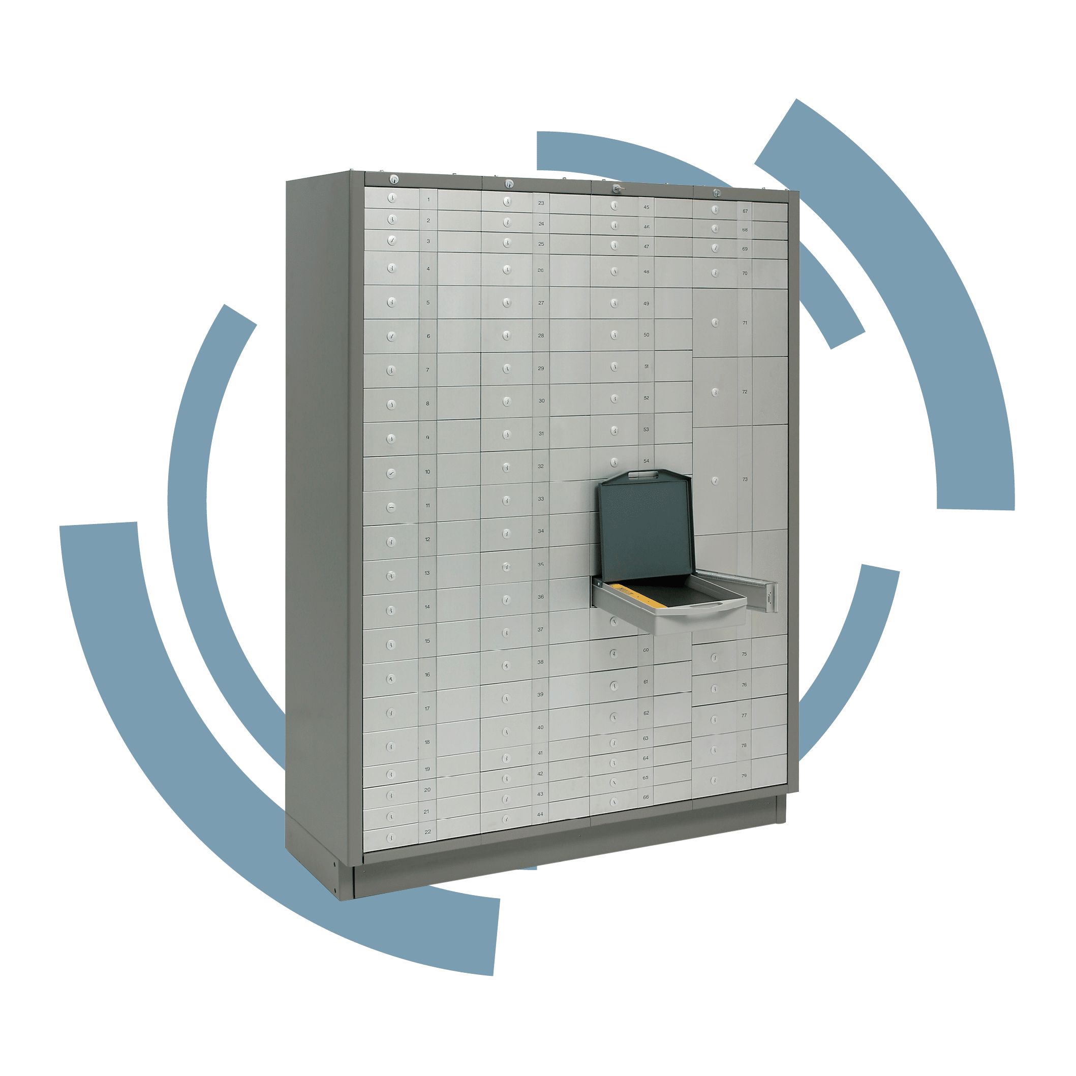 Associataced Security-safe Deposit- Vaults safe