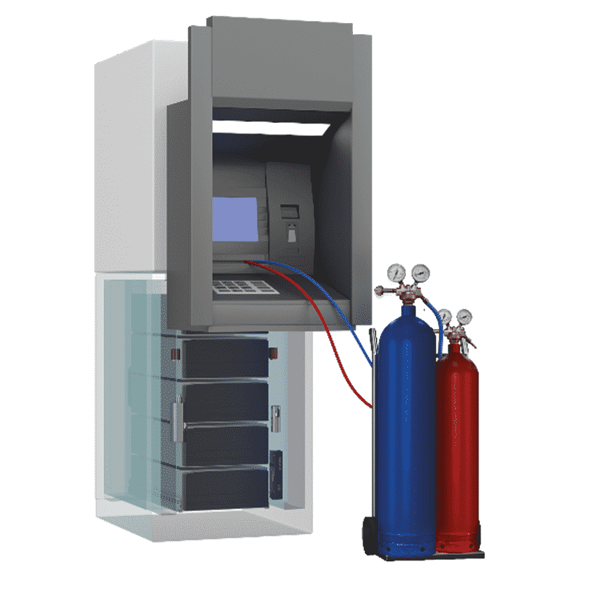 Gas Suppression- Associated Security