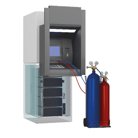 Gas Suppression Detection-ATM