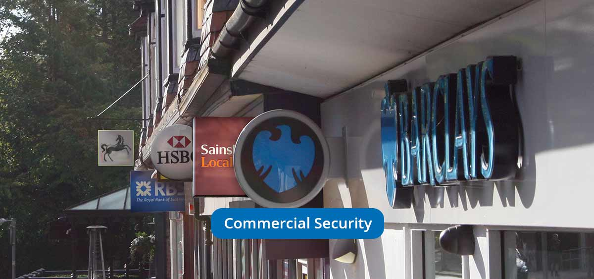 Commercial and business Security - Security Solutions