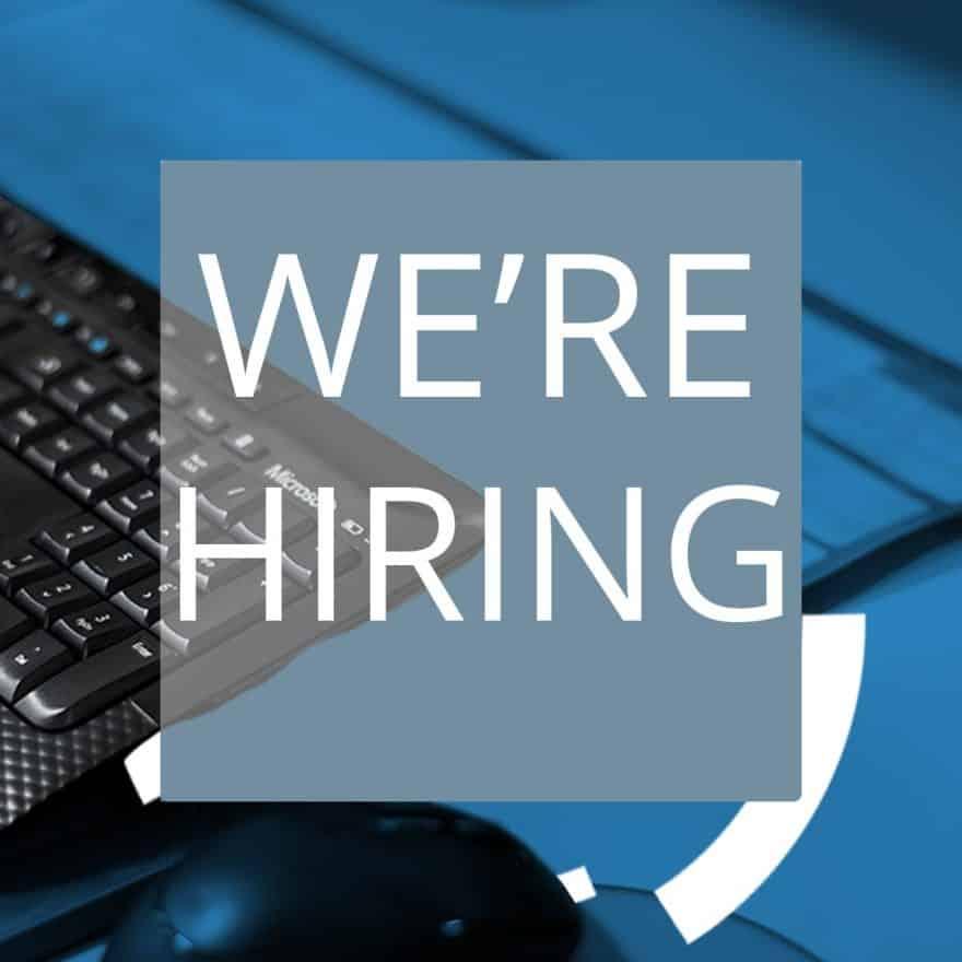 WE'RE HIRING- Job titleMarketing Business Development Manager